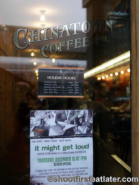 Chinatown Coffee, DC-002