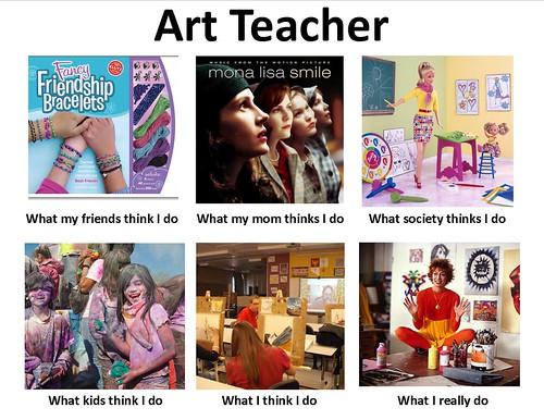art teacher meme