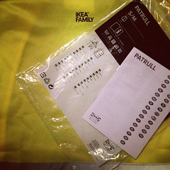 Ikea Patrull Safety Vest - comes with a 31 page instruction book