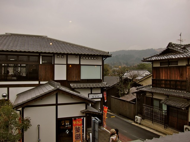 Nara rooftops