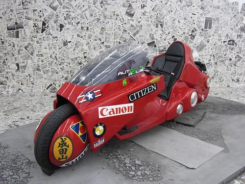 金田のバイク