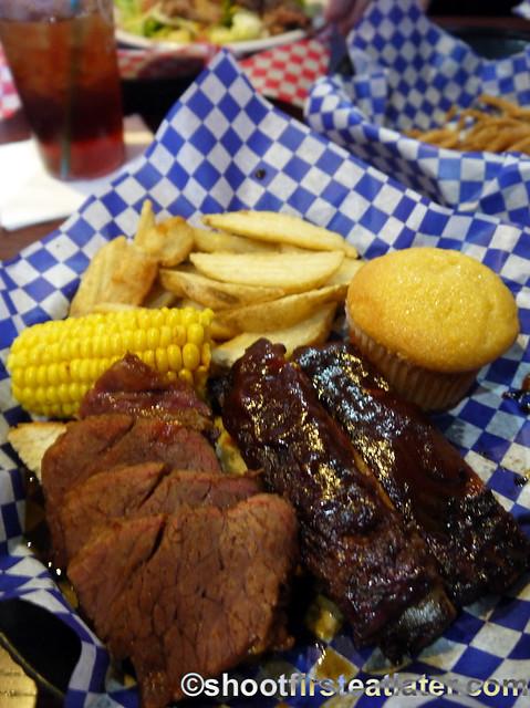 St. Louis Style Spareribs & Texas Beef Brisket