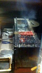 Yakitori Grill at Raku Japanese Fusion Cuisine in San Luis Obispo