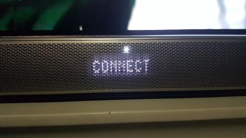 ลำโพง LG SH8 Soundbar มี LED แสดงข้อความแอบซ่อนอยู่ในตัว