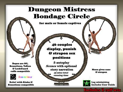 Dungeon Mistress Bondage Circle