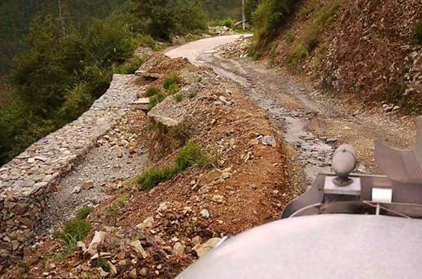 Road to Sagada