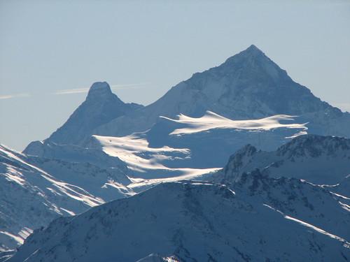 Matterhorn și Dent Blanche