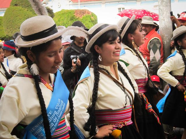 Virgin De La Candelaria Parade