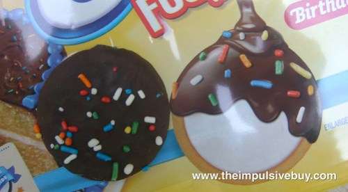 Limited Edition Birthday Cake Golden Oreo Fudge Cremes On Package