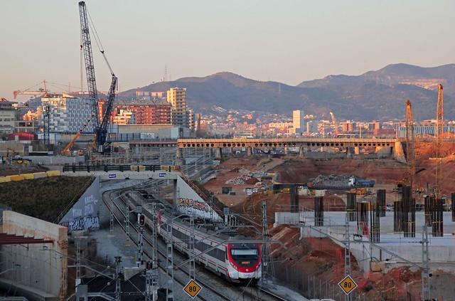 Puente del Trabajo desde el puente Calatrava_1