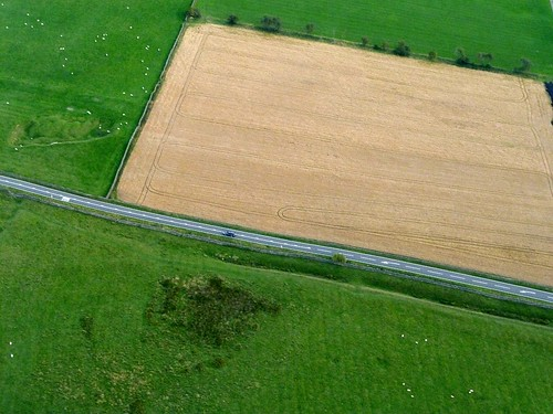 The Vallum as earthwork and cropmark