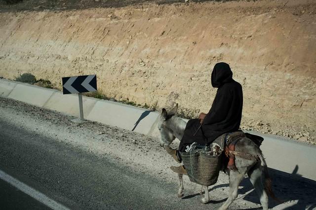 The road to Essaouira