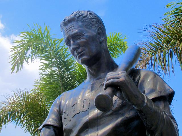 JetBlue Park - Ted Williams Statue