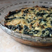 Crustless Quinoa and Kale Quiche