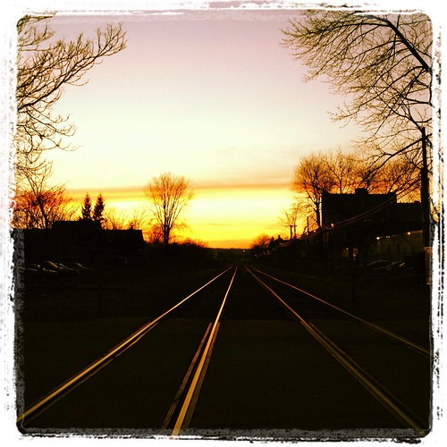 Sunset on the Tracks - 365/70