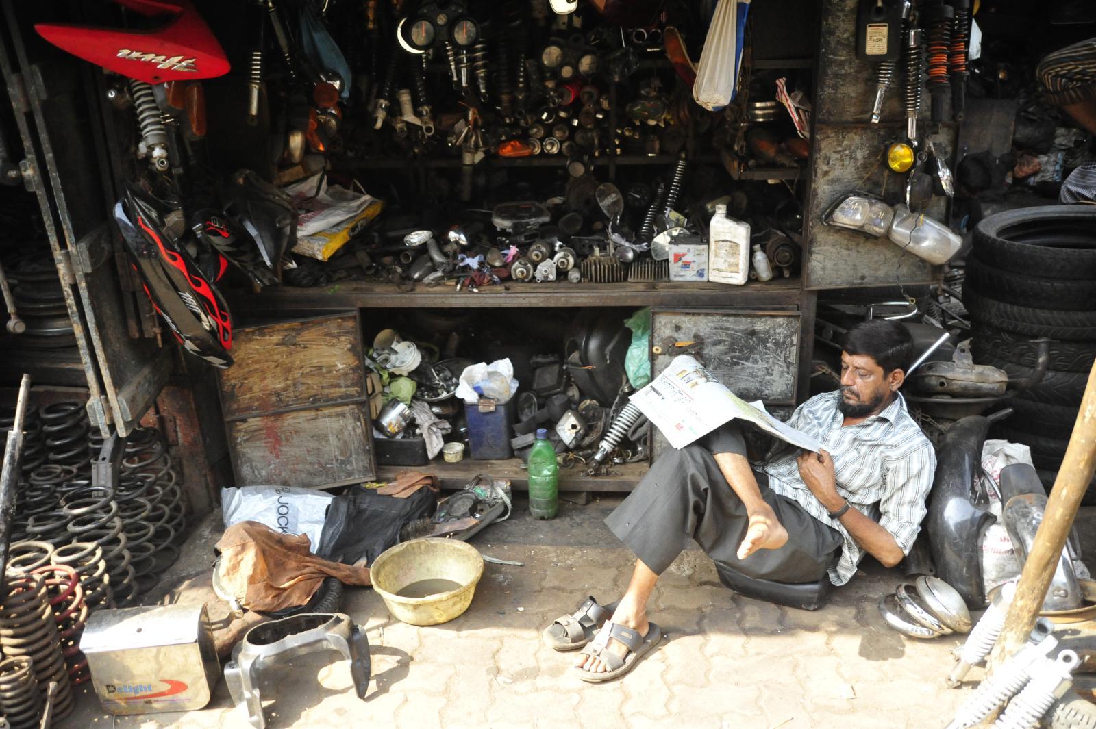 Let me catch up! Chor bizaar, Mumbai