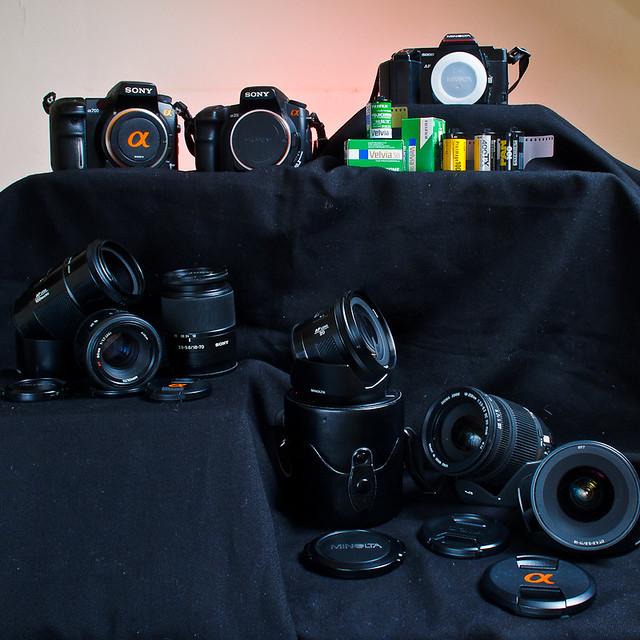 My Alpha gear collection