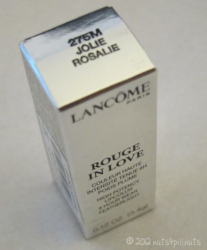 Lancome Rouge In Love 275M Jolie Rosalie