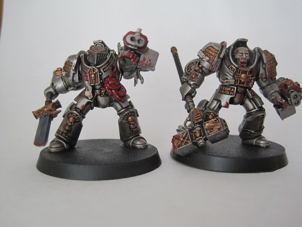 Zombie Grey Knight 6 Finished Pair