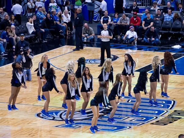 The Magic Dancers perform