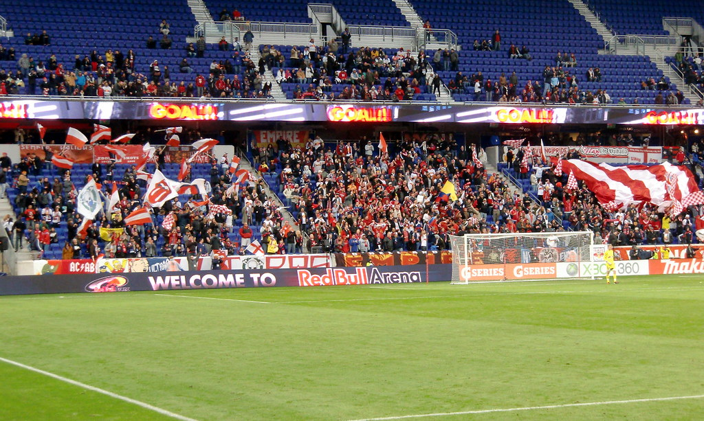 Sparce Fan Attendance at Red Bull Arena