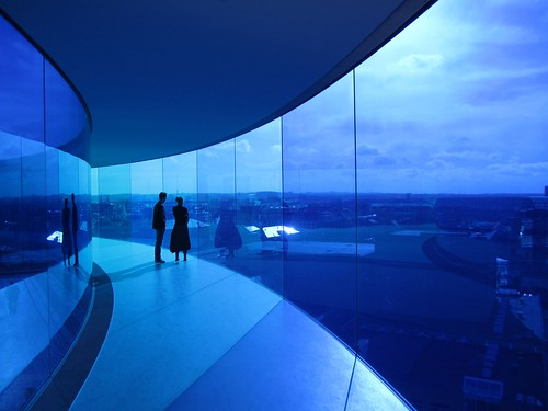 ARoS Aarhus art museum rainbow panorama
