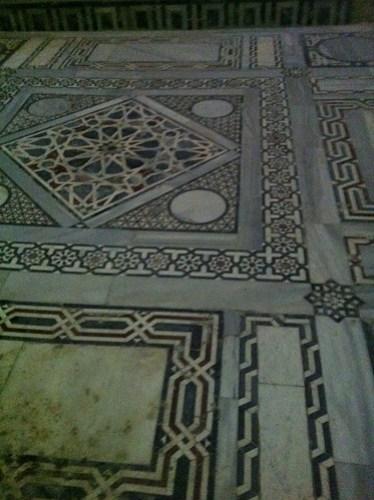 Prayer-Room in Qaitbey Citadel, Alexandria, Egypt.