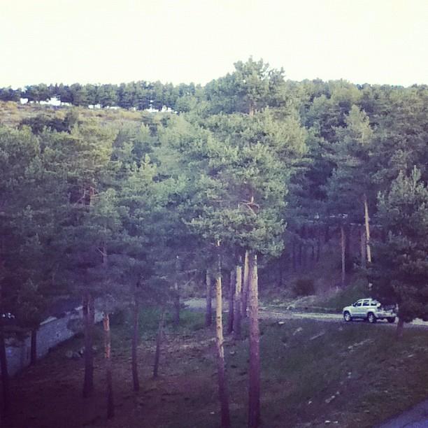 #tbmgredos Buenos días, esto es lo que veo desde mi ventana del Parador como tenga que abrazarlos a todos ;)