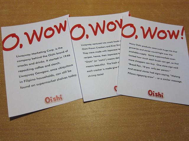From Oishi