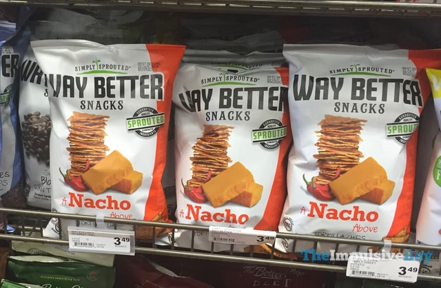 Way Better Snacks Nacho Tortilla Chips
