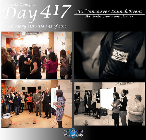 Day 417 - JCI Vancouver Launch Event