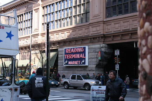 Outside of Reading Terminal Market