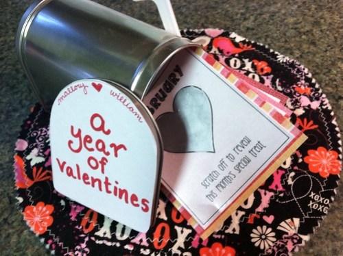 year of valentines