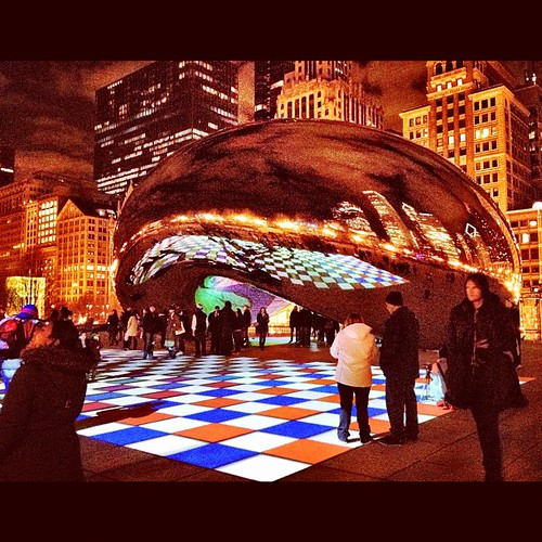 Light Show at the bean