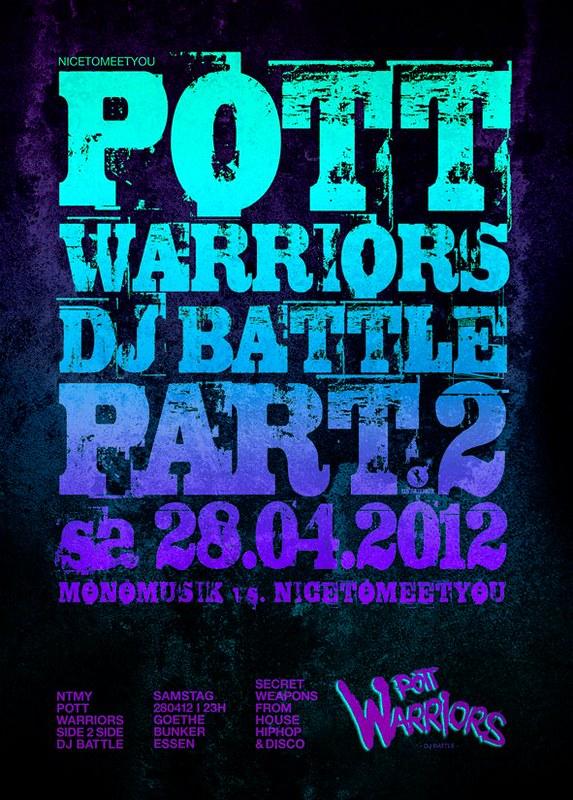 Supakool@ Pottwarriors Dj Battle Part 2