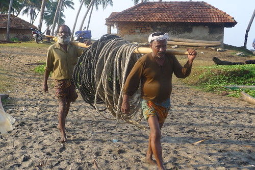 Carrying the Fishing Line
