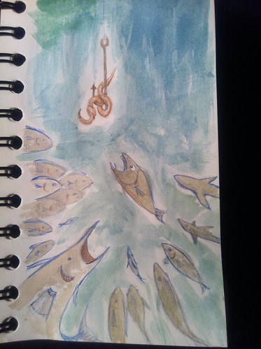 Day 67- school of fish