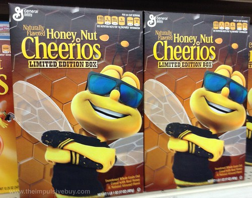 General Mills Honey Nut Cheerios Limited Edition Box