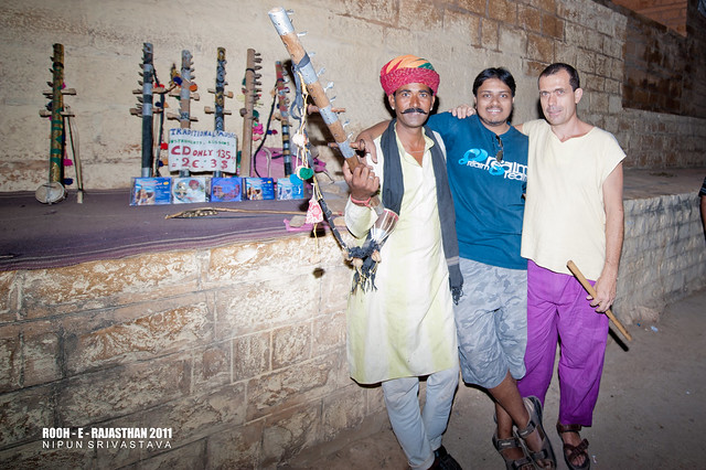 Jaisalmer connections!