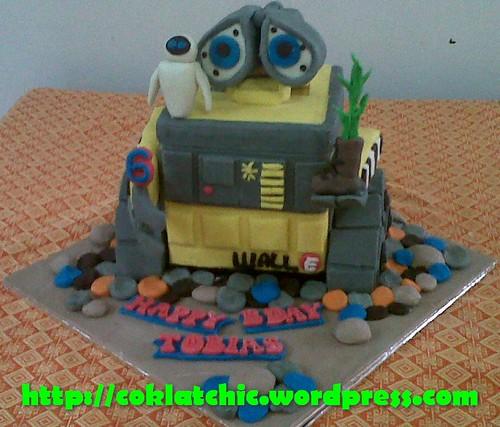 Cake Wall E