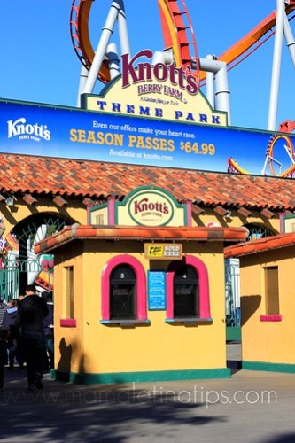 Knott´s Berry Farm Entrance