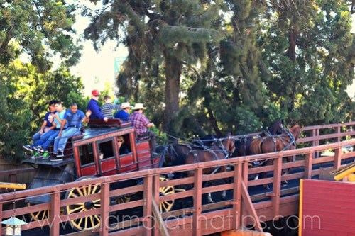 Stagecoach at Knott's Berry Farm