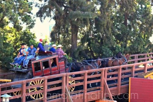 Stagecoach at Knott's Berry Farm