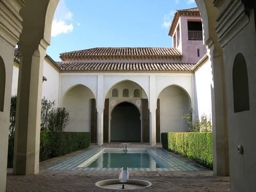 Alcazaba of Málaga by Webminkette