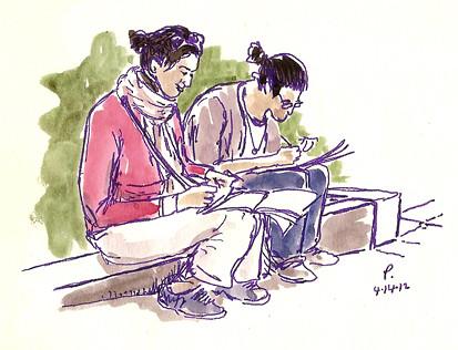 G St sketchers