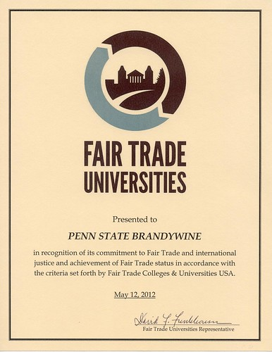 We Are... a Fair Trade University!