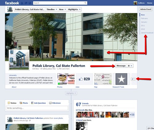 Facebook Pages Timeline - Public View
