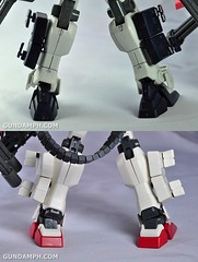 MG 1-100 Gundam HeavyArms EW Unboxing OOTB Review (135)