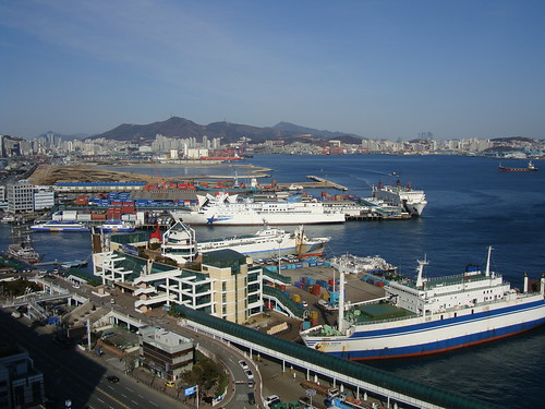 Busan harbor