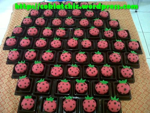 Minicupcake Strawberry
